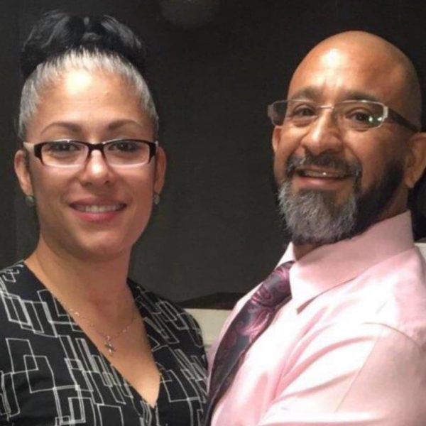 Pastor Yvonne Lopez (left) and Husband Mike Lopez (right)